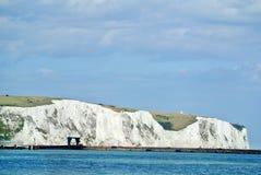 Dover White Cliffs Immagine Stock
