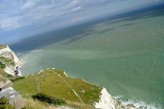 Dover White Cliffs Fotografia Stock Libera da Diritti