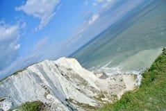 Dover White Cliffs Fotografie Stock