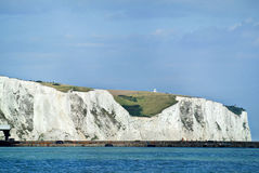 Dover White Cliffs foto de stock royalty free
