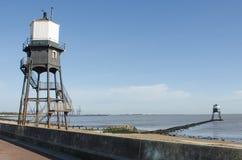 Dovercourt灯塔在晴天 库存照片