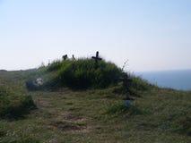 Dovers vita klippor arkivbilder