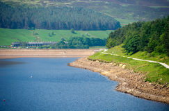 Dovestone Reservoir Stock Images