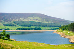Dovestone Reservoir Royalty Free Stock Photos
