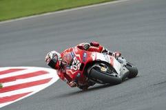 Dovizioso d'Andrea, généraliste 2014 de moto Photos libres de droits