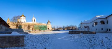 The Dovmont town in Pskov Stock Photography