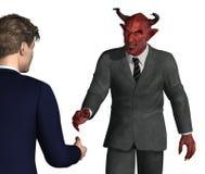 Dovreste fidarti di questo tirante? royalty illustrazione gratis