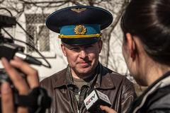 Dowódca Belbek militarna baza zdjęcia stock
