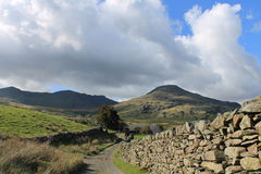 Coniston Old Man Cumbria Royalty Free Stock Photo
