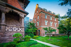 Dow Hall i, na kampusie uniwersytet yale, Obraz Royalty Free