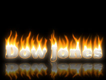 Dow Jones Foto de Stock Royalty Free