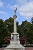 Dowagiac Civil War Monument Stock Images