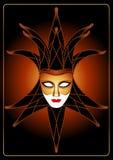 dowcipniś maska Zdjęcie Royalty Free