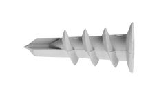 Dowel pin on white background Stock Photo