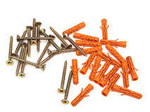 Dowel pins Royalty Free Stock Image