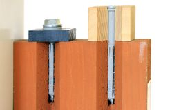 Dowel in use Stock Images