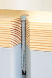 Dowels in use Royalty Free Stock Photos
