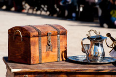 Dower chest Royalty Free Stock Photos