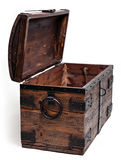 Dower chest retro,empty and old. Royalty Free Stock Photos
