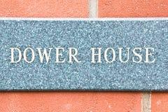 Dower house Stock Photo