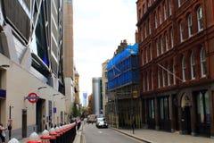 Dowgateheuvel de Stad van Londen het Verenigd Koninkrijk stock afbeelding