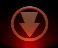 Down arrow Royalty Free Stock Image