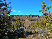 Down in the Canyon. View in Crooked River Canyon at Crooked River Ranch - near Terrebonne, OR stock image
