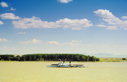 Down on Danube river Royalty Free Stock Images