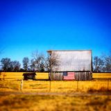 Down on the farm. Pasture and field in middle tennessee royalty free stock image