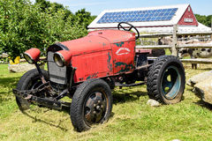 Down on the farm. This farm tractor was taken on a farm in phillipston mass Royalty Free Stock Photos