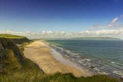 Down hill beach. One of the most well known beaches in ireland Down hill strand co.Londonderry Stock Photos