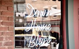 Down Home Blues Music. Down Home Blues Chicago is THE definitive collection of blues music from Chicago-based musicians from the late 1940s to the late 1950s stock image