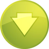 Down navigation icon Stock Photos