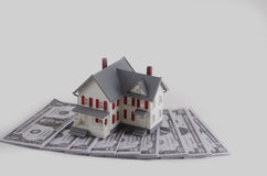 Down payment on a house Royalty Free Stock Photo