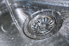 Down the Plughole Stock Image