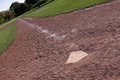 Down the Right Field Line Royalty Free Stock Photo