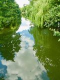Down on the river. Chippenham Wiltshire England united kingdom royalty free stock photo