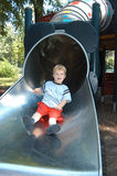 Down the slide royalty free stock image
