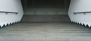 Down stairs walkway and background photo image royalty free stock photo