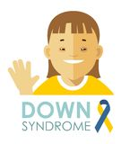 Down syndrome concept Stock Photography