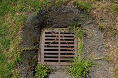 Down The Drain Stock Photography