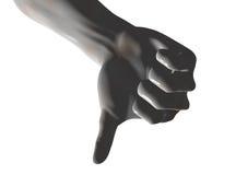 down thumb διανυσματική απεικόνιση