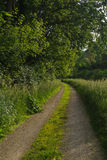 Down the tow path. Royalty Free Stock Image