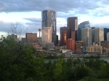 Down Town Calgary Stock Image
