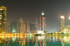 Down town of Dubai. City Stock Image