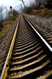 Down the tracks Stock Photos
