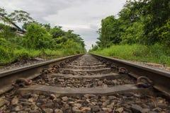 Down the Tracks Stock Photo