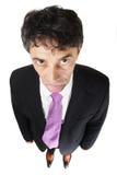 Down-trodden businessman Stock Images