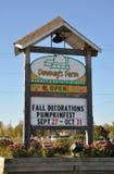 Downey's Farm sign Stock Photos