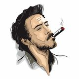 downeyjr robert royaltyfri illustrationer